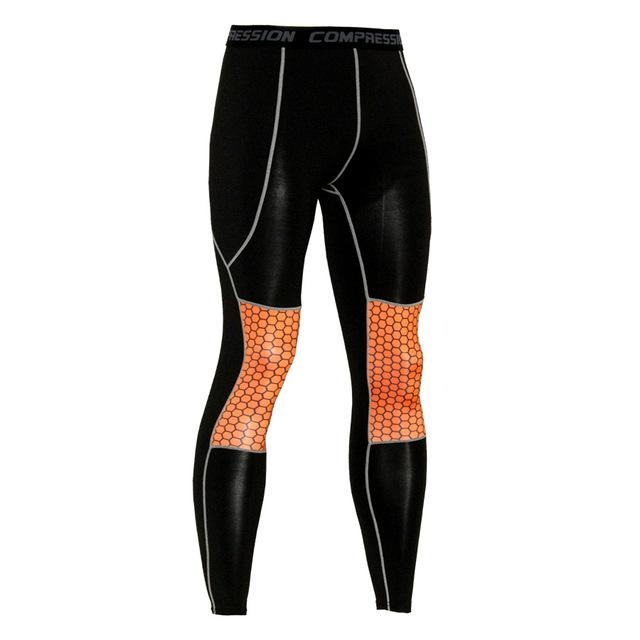 Men's Compression Leggings Fitness Pants Long Male Wokout Joggers Colorful Pattern Tightsmodkily-modkily