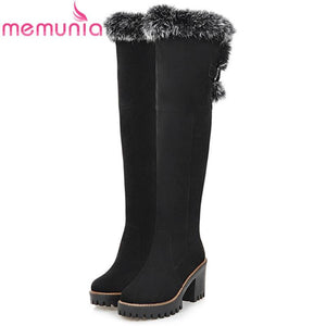 Large size 34-43 over the knee boots fashion shoes women keepmodkily-modkily