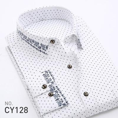 2017 New Style Fashion Mens Shirt Slim Fit Long Sleeves Shirtsmodkily-modkily