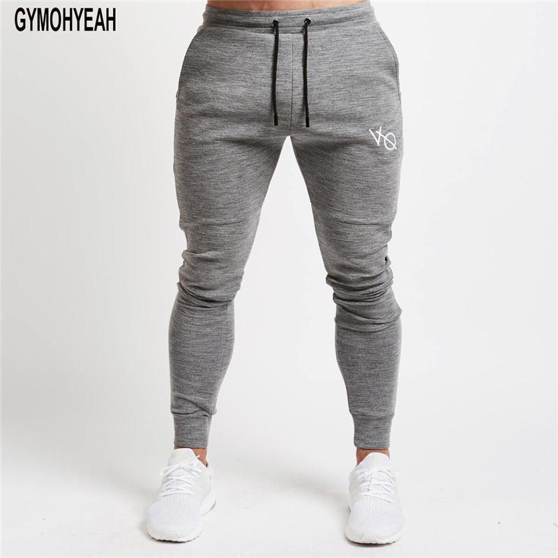 Autumn New brands Sweatpants Men Solid Workout Bodybuilding Clothing Casual Bodybuildingmodkily-modkily