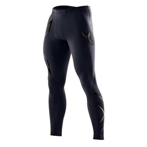 Men Compression Tight Long Pants Black Trousers Joggers Trousers Emoji Joggers Emojimodkily-modkily