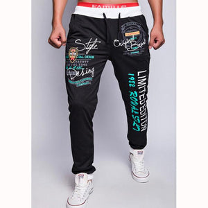 5 color 2017 new style trousers men's Urban fashion letters printing leisuremodkily-modkily