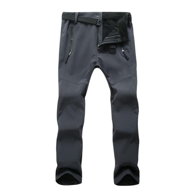 Men Winter Warm Cargo Pants Thermal Fleece Military Pants Mens Army Greenmodkily-modkily