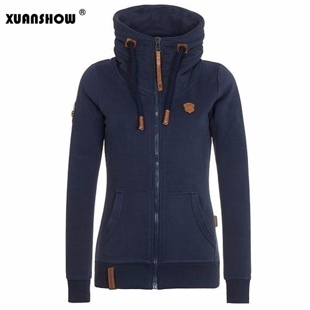 Womens Fashion Fleeces Hoodies Ladies Sweatshirts Casual Tracksuits Solid Long Sleevemodkily-modkily