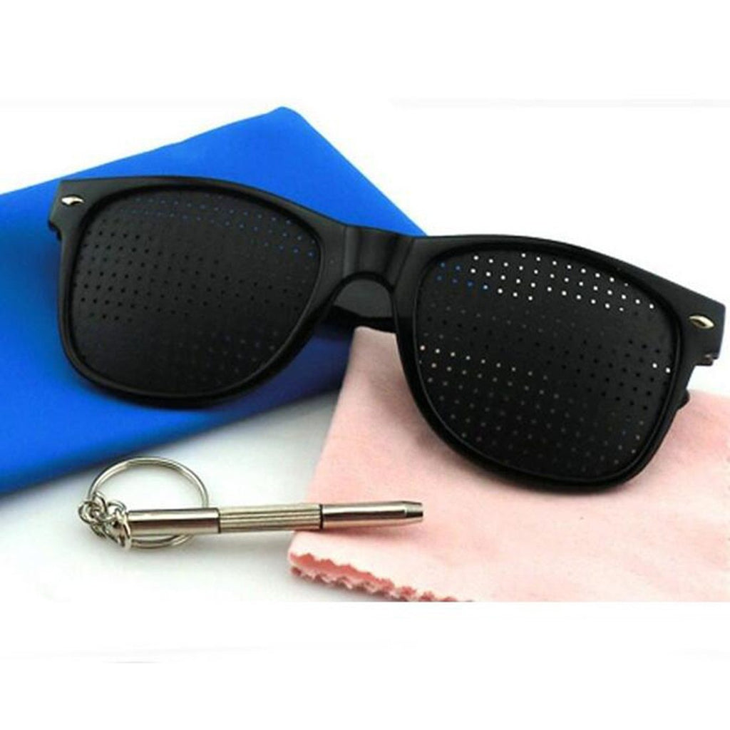Hot Vision Care Pin Hole Sunglasses Men Women Anti-myopia Eye Exercise Improvermodkily-modkily
