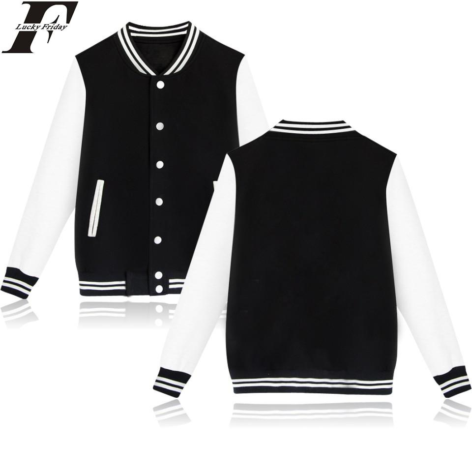 4 Solid Color Winter Baseball Jacket Men Hooded Men Casualmodkily-modkily