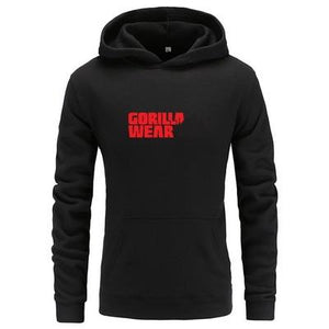 2018 New arrival fashion gorilla wear hoodies harajuku printed mens hoodies pullovermodkily-modkily