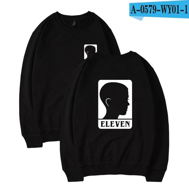 Aikooki Fashion Stranger Things Sweatshirt Hoodies Clothes Capless Sweatshirt And hoodies Menmodkily-modkily