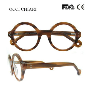 Retro Round Frame Brand Design Prescription Nerd Lens Medical Optical Glassesmodkily-modkily