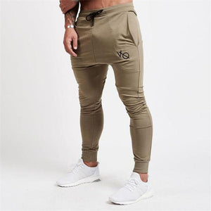 2017 Autumn New High Quality Jogger printing Pants Men Cotton Fitnessmodkily-modkily