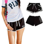 VS Love Pink Women Lulu Active Sporting Booty Shorts Tumblr High Waistmodkily-modkily
