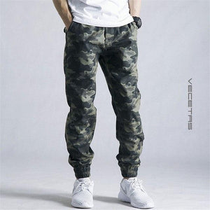 Hot 2018 Mens Jogger Autumn Pencil Harem Pants Men Camouflage Military Pantsmodkily-modkily