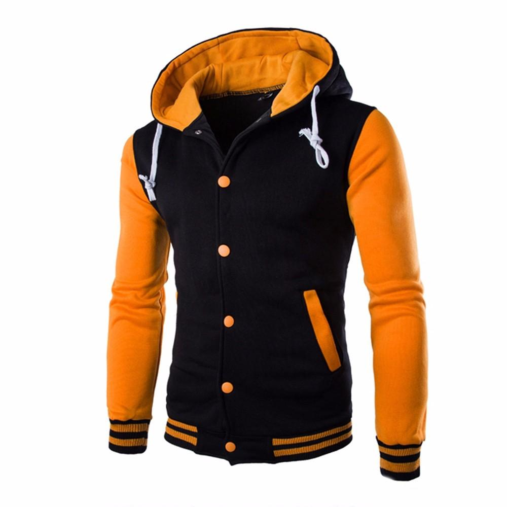 Men Coat Jacket Outwear Winter Slim Hoodie Warm Hooded Sweatshirt Hotmodkily-modkily