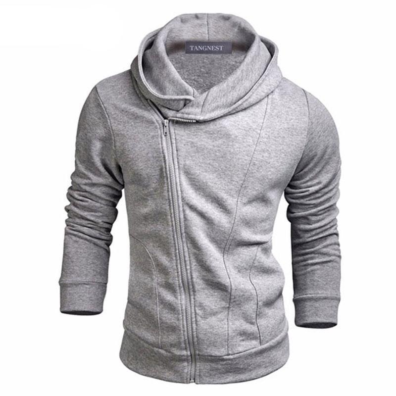 Men Hoodies 2018 New Design Male Solid Casual Fleece Sweatshirt Men'smodkily-modkily