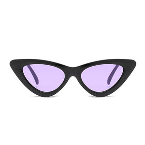 2018 High Quality Small Cat Eye Sunglasses Women Brand Designer Retro Sunglassmodkily-modkily