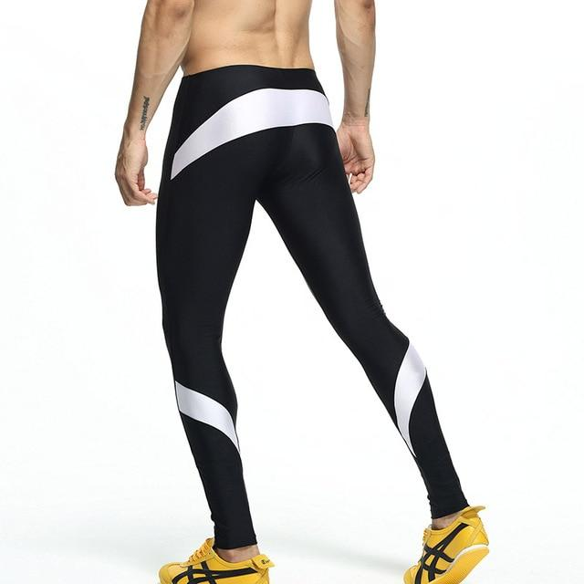 Mens Man long sexy tight pants Man fashion full length pants penismodkily-modkily