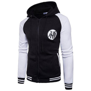 Trend New Japanese Anime Dragon Ball Goku Varsity Hooded Jacket 2018 Springmodkily-modkily