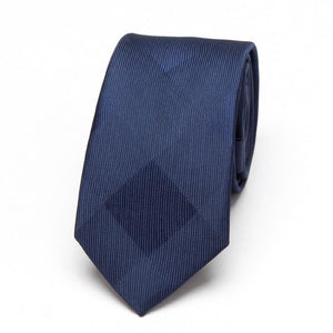 Men Blue Neckties xgvokh brand fashion Wedding leisure business polyester Skinny Mensmodkily-modkily