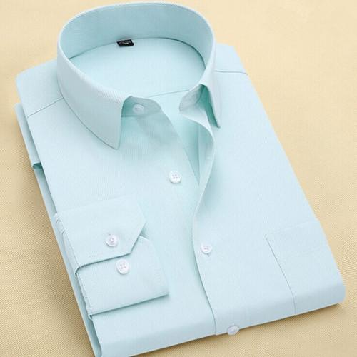 Long Sleeve Slim Men Dress Shirt 2018 Brand New Fashion Designer Highmodkily-modkily
