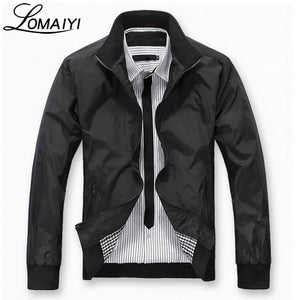 2018 Spring Summer Men's Casual Jacket Men Business Blue Slim Fitmodkily-modkily