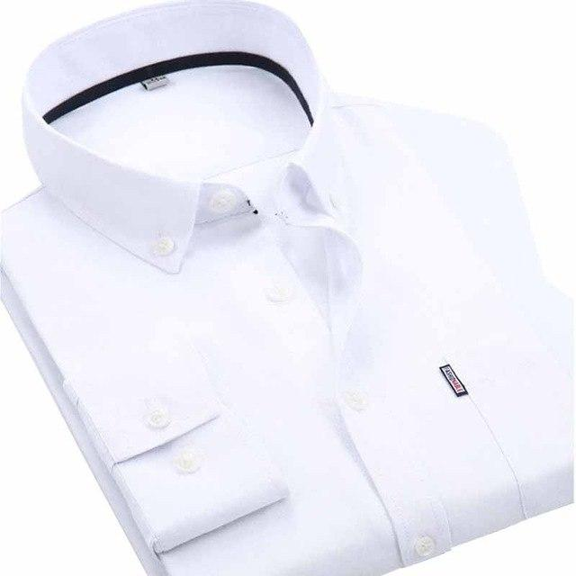 2018 Men Shirt Long Sleeve Multicolor Off White Business Formal Shirtmodkily-modkily