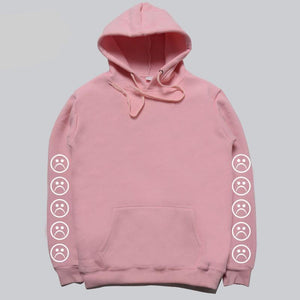 Hoodies Men women Sweatshirts Sad Faces Autumn high quality 1:1 Cotton Longmodkily-modkily