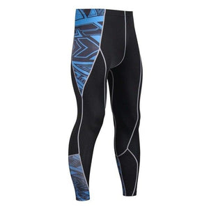 Mens 3D Compression Pants Tights Bodybuilding Leggings MMA Crossfit Workout Fitness Sportswearmodkily-modkily