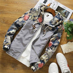 11.11.2017 floral white women jacket winter warm bomber jacket women clothing coatmodkily-modkily