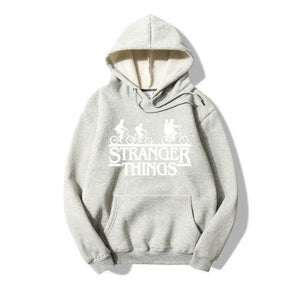 Trendy Faces New Season Stranger Things Hooded Men Women Hoodies Sweatshirts Lettermodkily-modkily