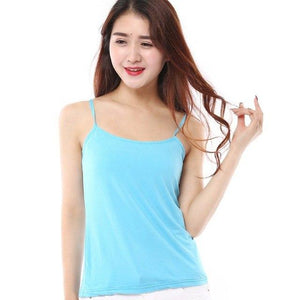Women Tank Top Slim Sleeveless Vest Tops Casual T-shirt Cami Female Blousesmodkily-modkily