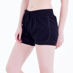 woman summer casual shorts mesh 2 layers elastic waist shorts fitness summermodkily-modkily