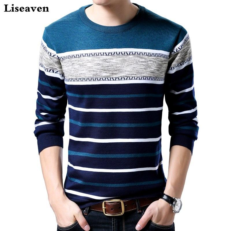 Brand Casual Sweater O-Neck Slim Fit Knitting Mens Sweaters And Pulloversmodkily-modkily