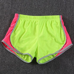 2018 Summer New Fluorescence Color Women Short For Workout Fashion Casual Activemodkily-modkily