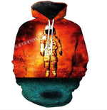 Skulls Hoodies Hot Selling Hooded Sweatshirt Streetwear Style Pullover Plus Sizemodkily-modkily