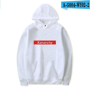 Lil xan Xanarchy Hoodies and Sweatshirts Autumn Hip Hop Mens Hoodies Pullovermodkily-modkily