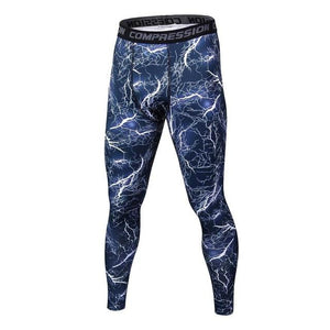 2018 new men's tight-fitting pants Leggings Fitness male trousers Flexible breathablemodkily-modkily