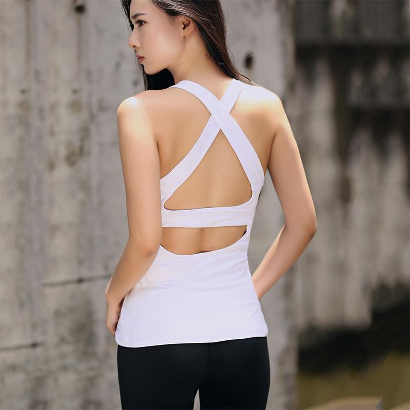 2018 Summer Sexy Cross Harness Women Tank Tops Female Dry Quick Loosemodkily-modkily