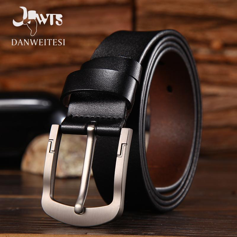 []2017 men belt leather luxury high quality cow genuine leather belts formodkily-modkily