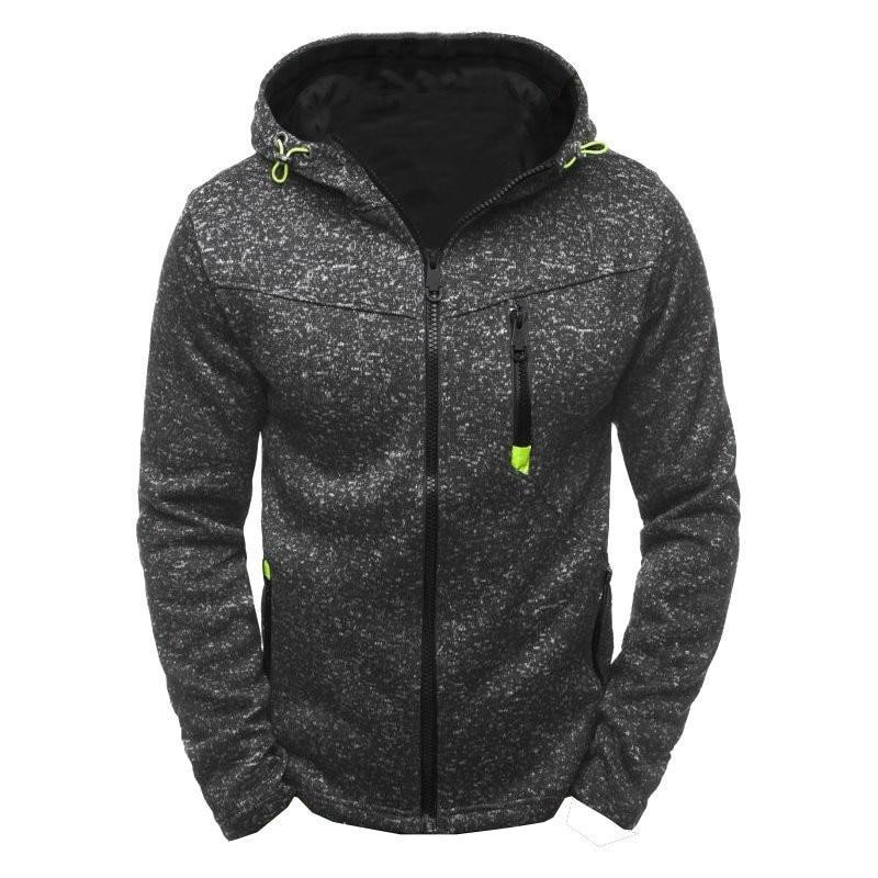 Spring Men's Hooded Coat Casual Hoodies Clothing Wool Liner Mens Thickenedmodkily-modkily