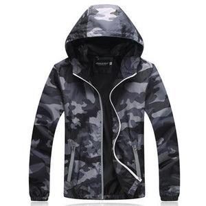 Camouflage Jackets Men's Coats 2018 Spring Summer Casual Camo Male Jacketsmodkily-modkily