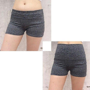 New 2017 Fashion Women Solid Elastic Waist Skinny Splicing Shorts Girls Tightmodkily-modkily