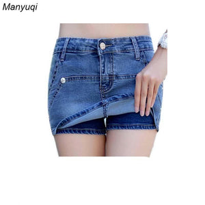 2017 new summer women skirt-shorts anti-light sexy denim hot mini sexy shortsmodkily-modkily