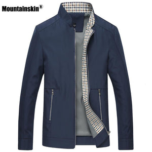 New Spring Autumn Men's Jackets Casual Coats Solid Color Mens Brandmodkily-modkily