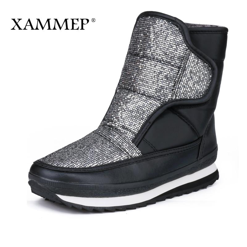 Xammep Women's Winter Shoes Big Size High Quality Brand Women Shoes Plushmodkily-modkily
