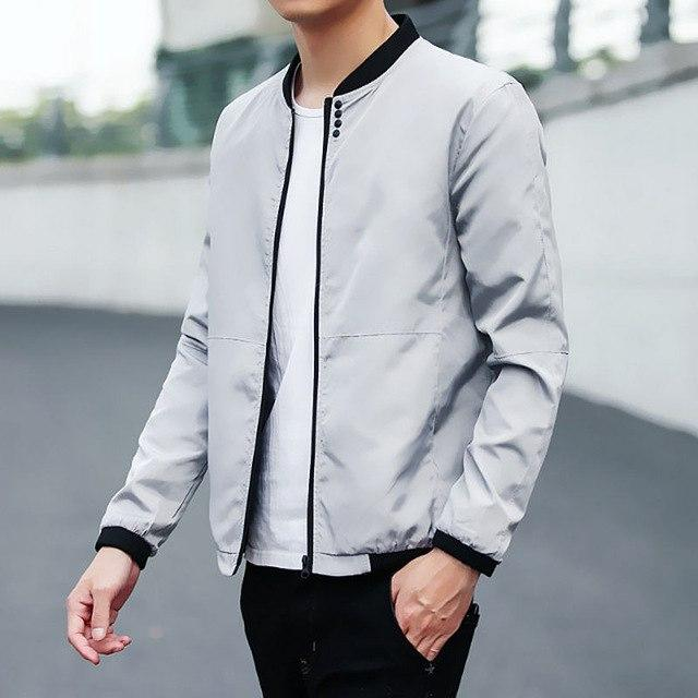 Big Size 4XL 5XL Mens Spring Summer Jackets Casual Thin Male Windbreakersmodkily-modkily