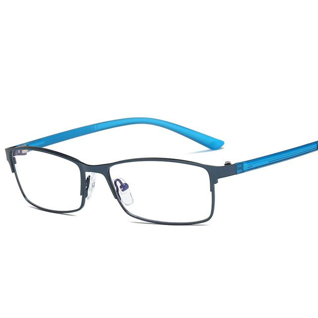 Colorful Glasses Frame Men Computer Gaming Goggles Eyeglasses Business Men Essential Full-framemodkily-modkily