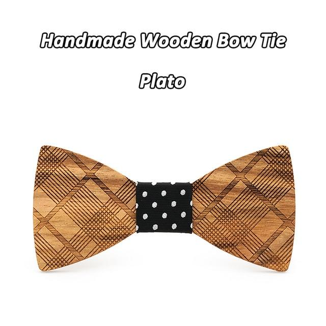 Mahoosive Boutique Metal Head Bow Ties For Groom Men Women Butterfly Solidmodkily-modkily