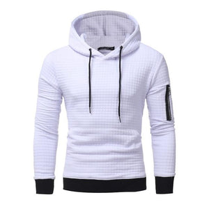 2018 New High-End Casual Hoodie Men'S Fashion Unique Korean Style Long-Sleeved Sweatshirtmodkily-modkily