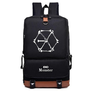 Kpop Bts Got7 Exo Twice Monsta x infinite Fashion nylon Schoolbag Backpackmodkily-modkily