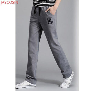 New 2018 Pants men joggers Plus Size Cotton Pants Casual Thin Trousersmodkily-modkily